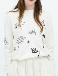 Was and Now - Fashion Clothing - special printed Designed Round Neck Sweatshirts