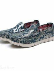 Shoespie Fashion Color Stitch Design Men's Loafers